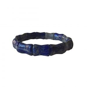 Lapis Bamboo Bangle
