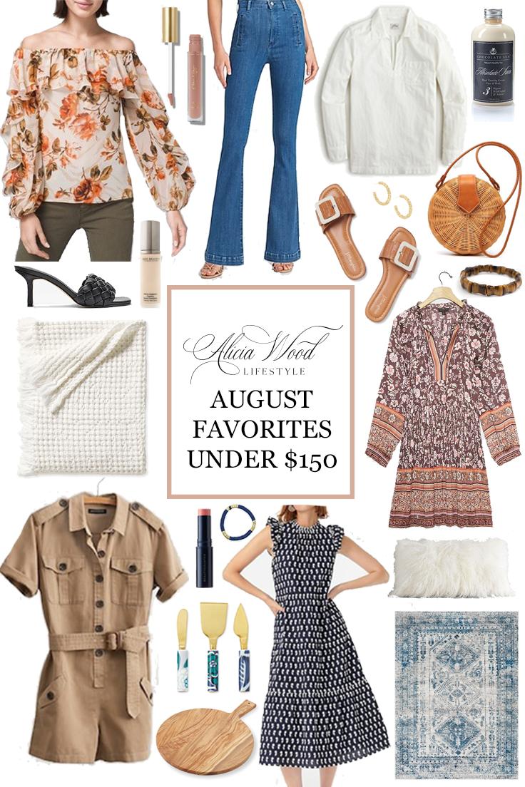 My Favorite Things-August Favorites Under $150