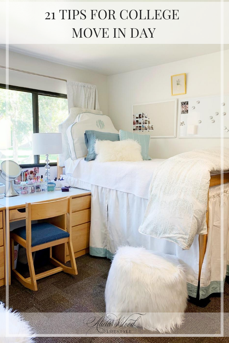 21 Tips for College Move In Day