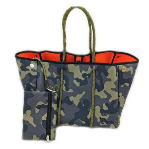 Parker and Hyde Neoprene Solid Camo Tote