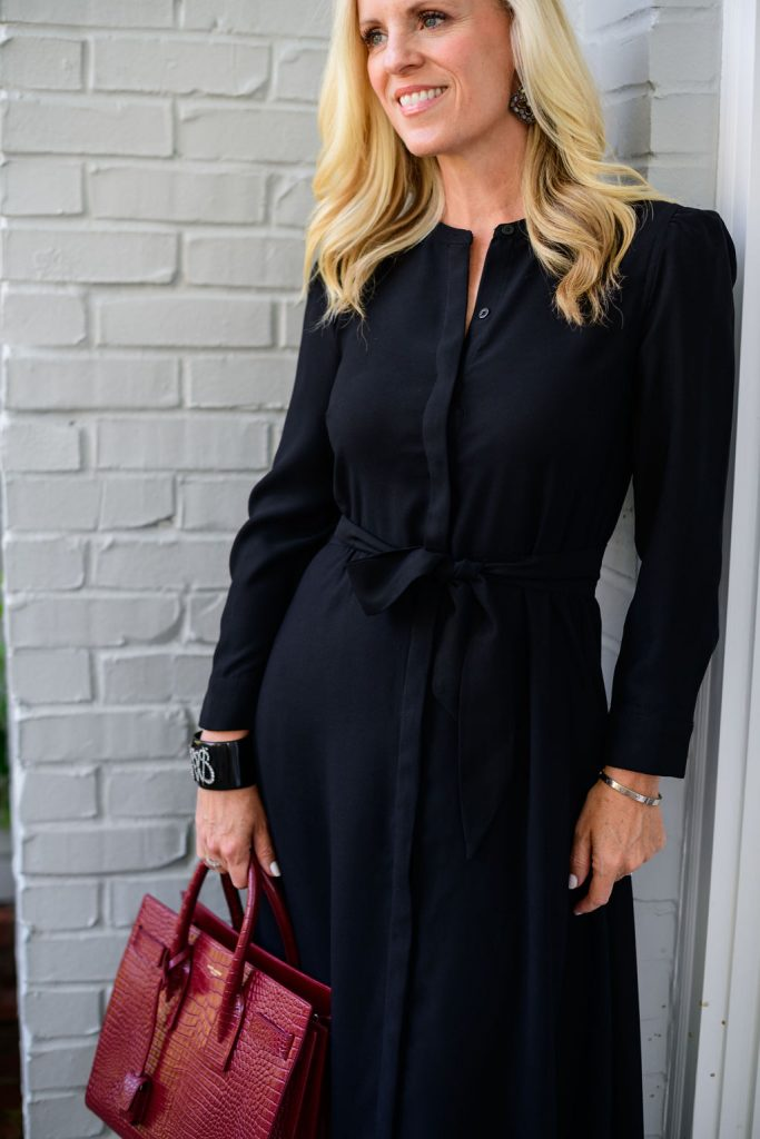 Tuckernuck Black Silk Maxi Dress - 13 Perfect Little Black Dresses For Fall