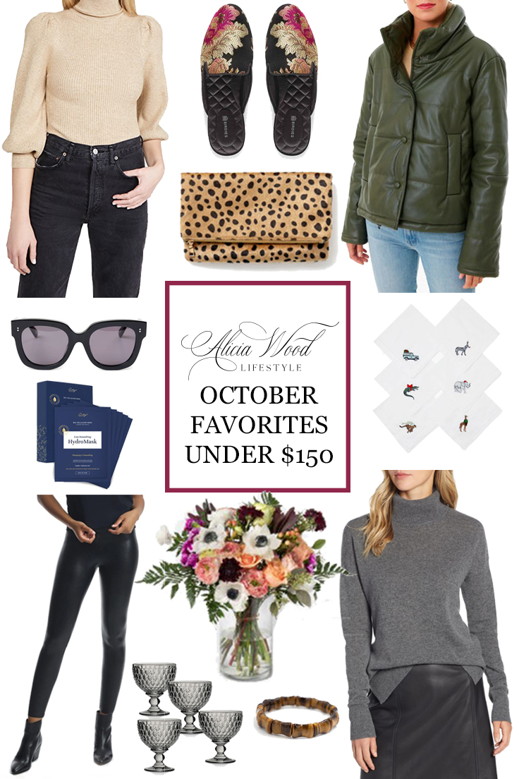 2020 October Favorites Under $150