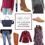 Top 25 Reader Favorites For October