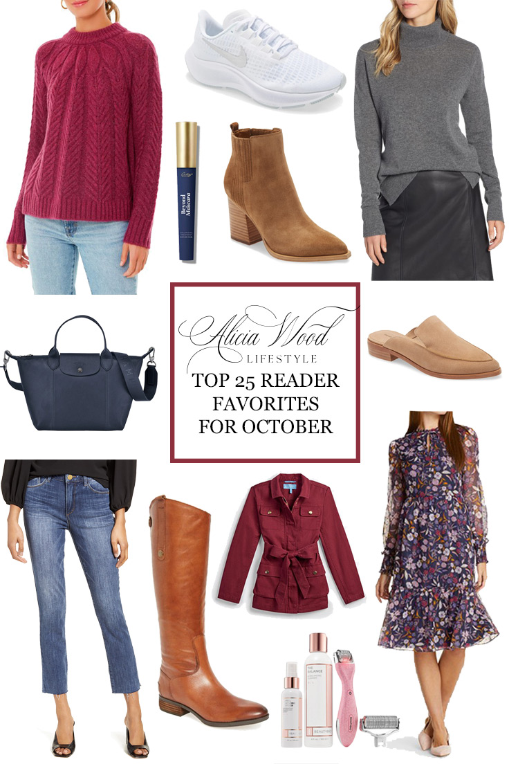 Top 25 October Reader Favorites