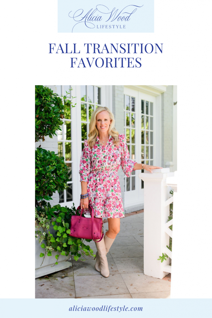 AWL Fall Transition Favorites Pinterest Graphic