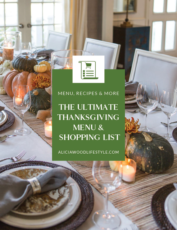 The Ultimate Thanksgiving Menu and Grocery Shopping List