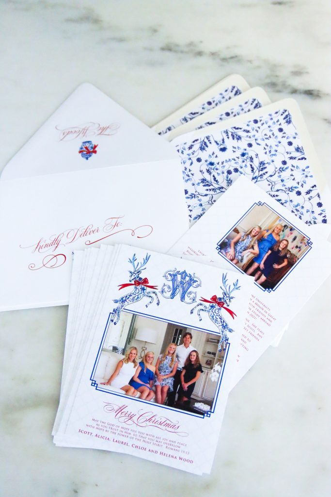 Custom Holiday Christmas Cards by Rosanne Beck