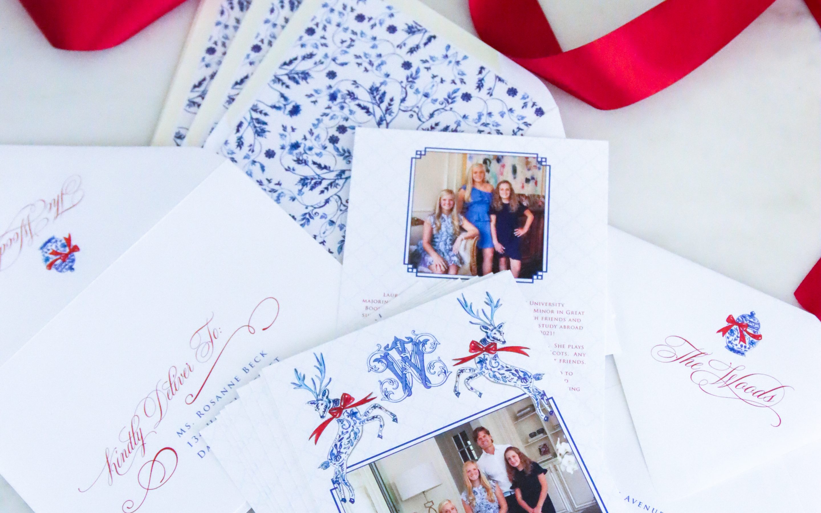 Custom Christmas Cards from Rosanne Beck
