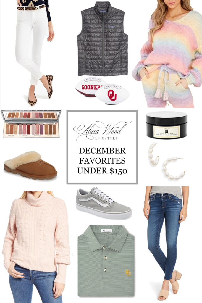 December Favorites Under $150