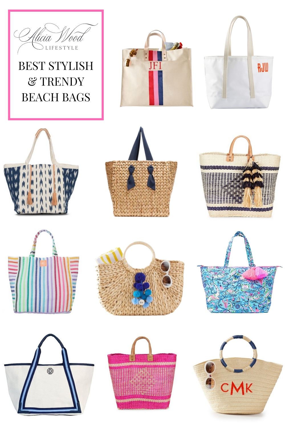 Best Stylish and Trendy Beach Bags