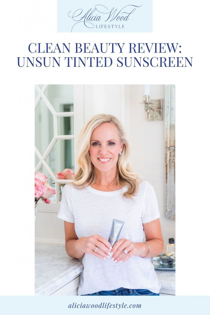 Clean Beauty Review: UnSun Tinted Sunscreen
