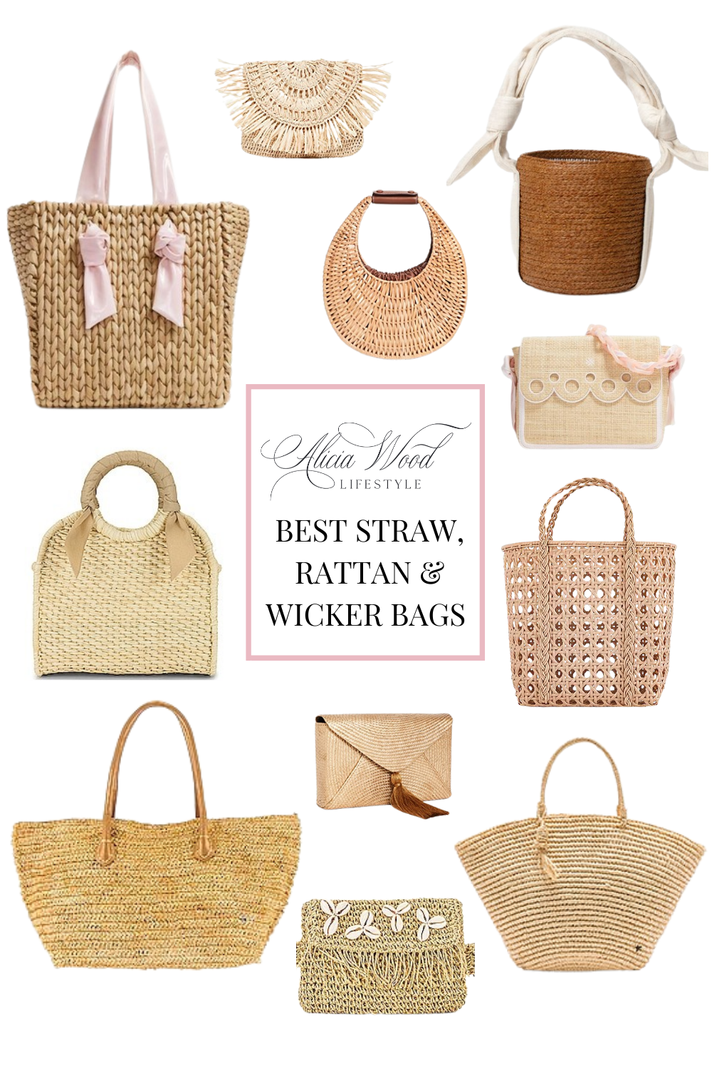 Best Straw Bags and Totes to Add To Your Collection