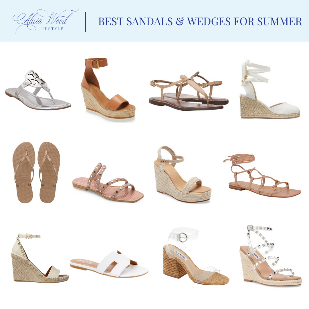 Best Sandals and Wedges for Summer