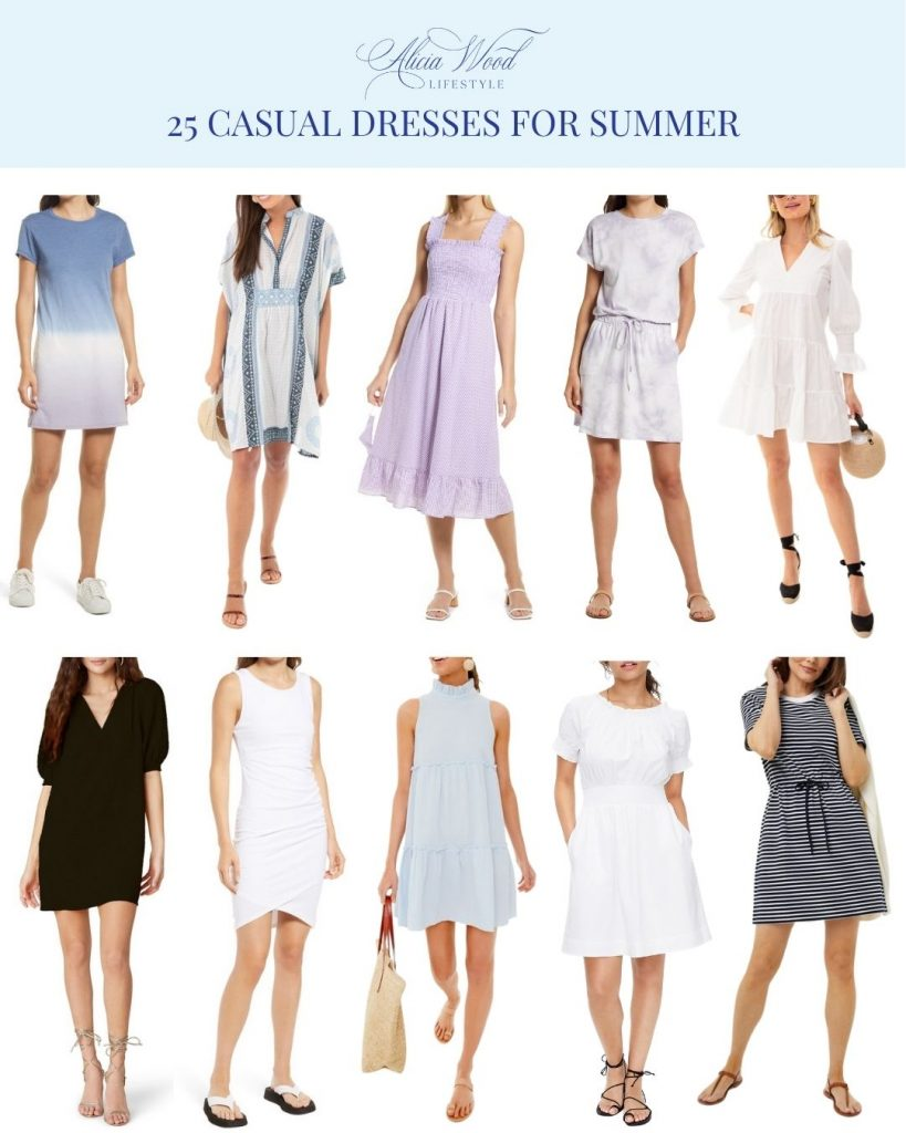 25 Casual Dresses for Summer