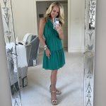 Green Nordstrom Sleeveless Dress
