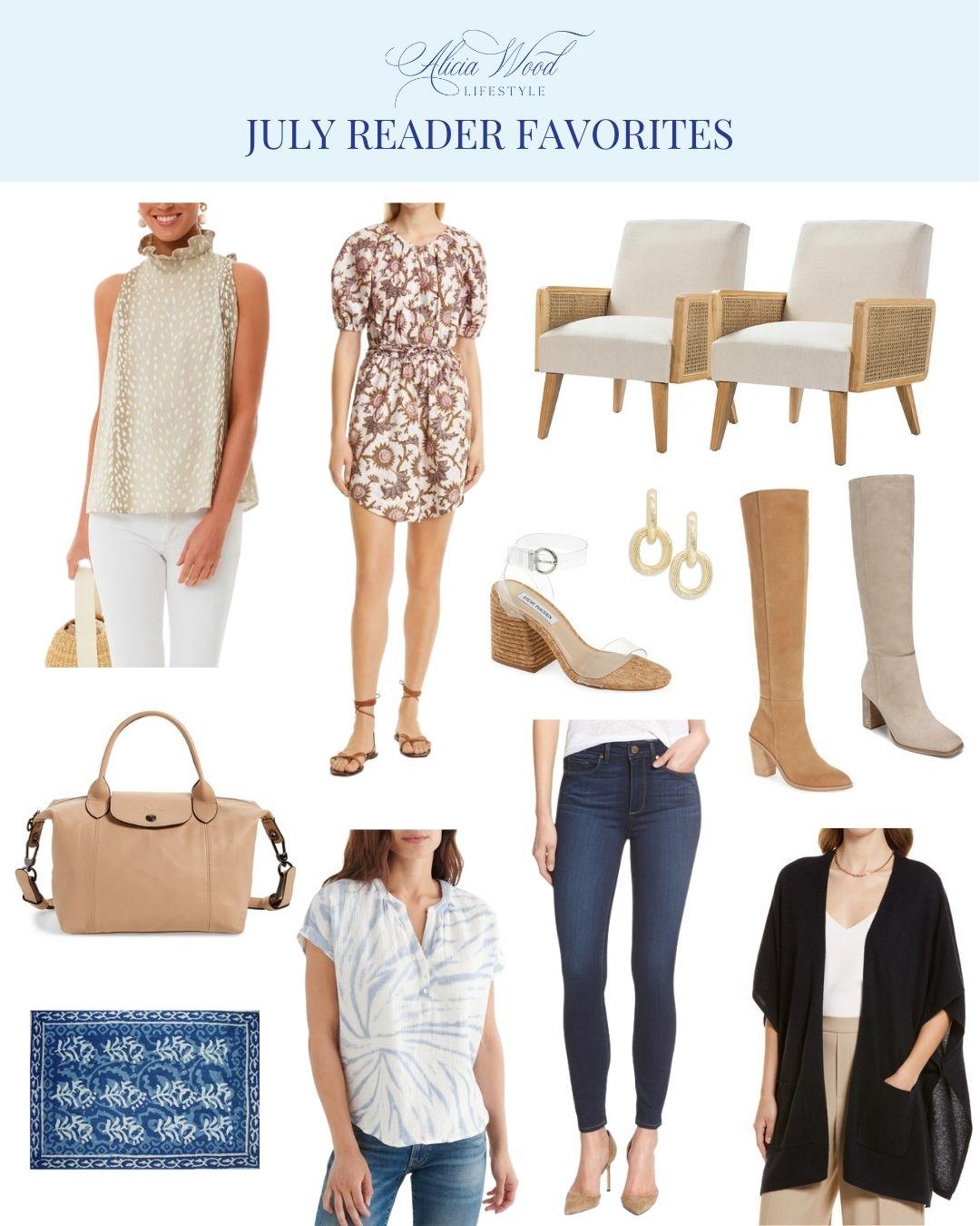 July Reader Favorites