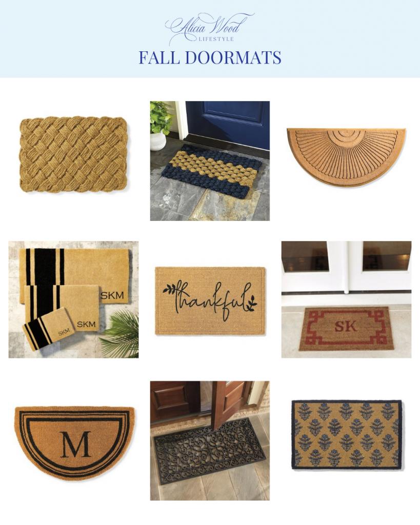 AWL Fall Doormats